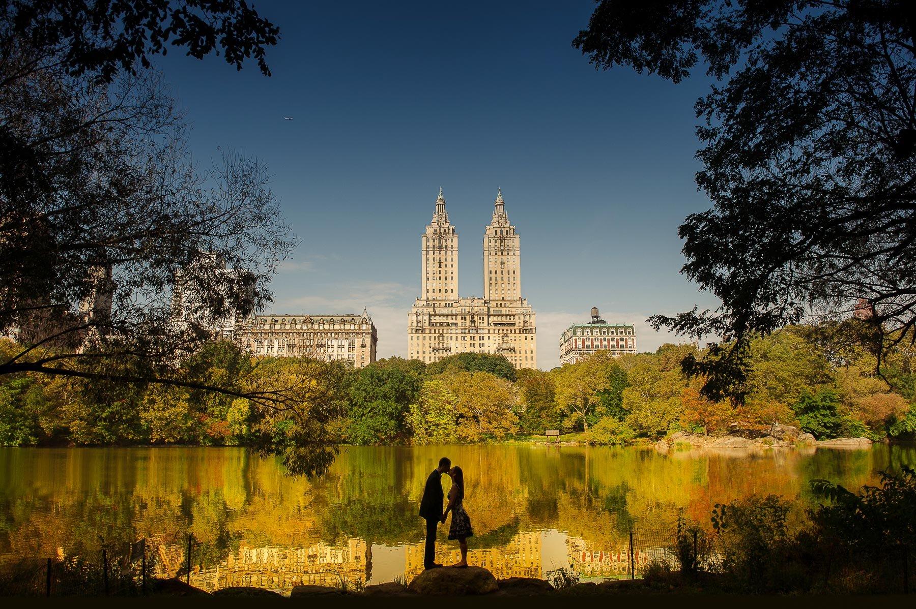 Central Park Engagements by Maloman Studios