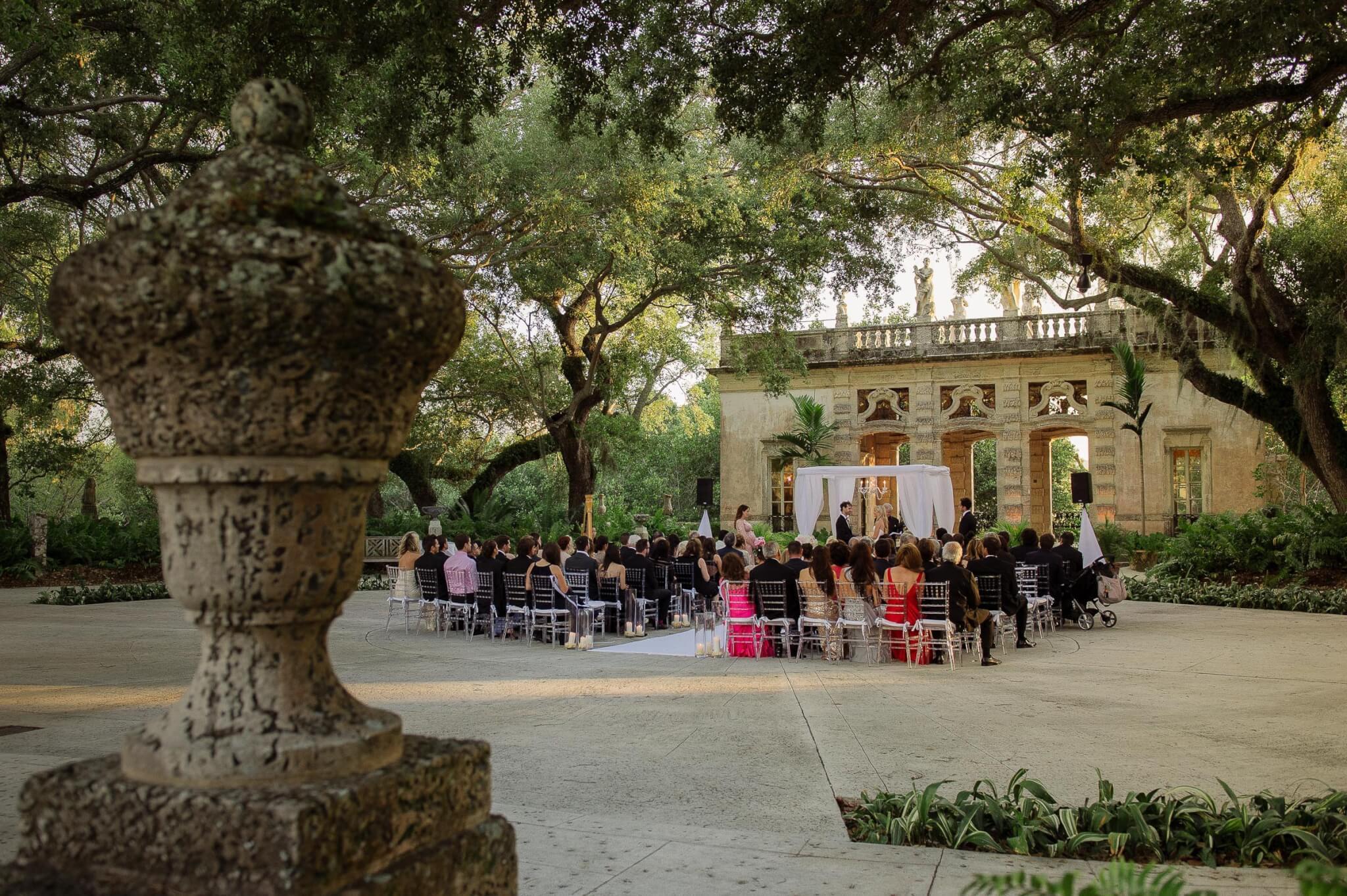 Sophisticated Vizcaya Museum Wedding