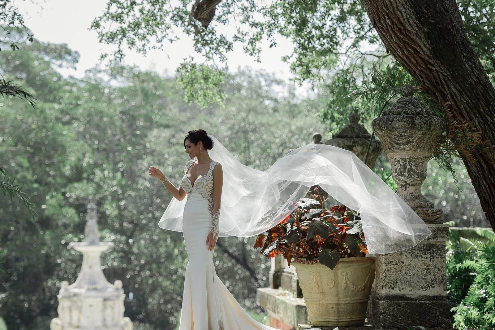 Best Vizcaya Museum Wedding Photographer