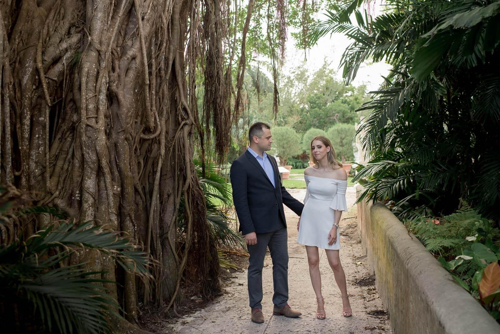 Vizcaya Engagement Photos